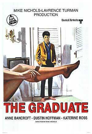 The Graduate 1967 movie poster