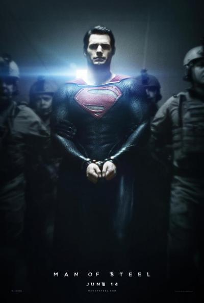 man of steel movie poster Man of Steel (2013) DVDRip XviD